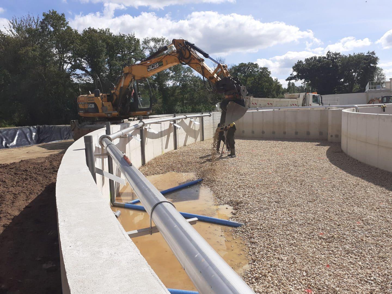 Assainissement reseaux et bassins 1 - Travaux publics