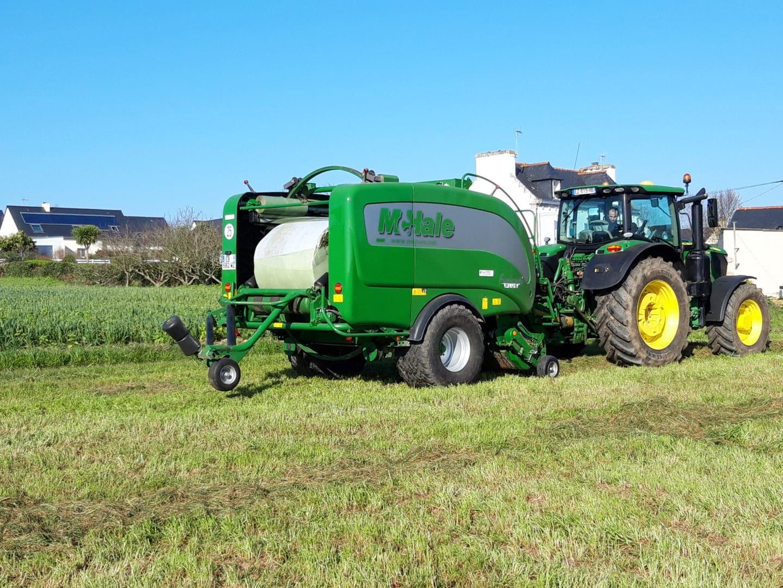 Enrubannage - Travaux agricoles