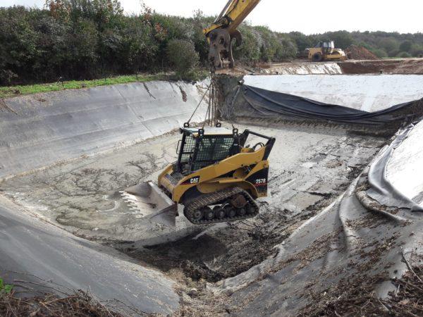 22770933 717482368442255 468512892404067540 o - Terrassement pour l'agrandissement d'une lagune de...