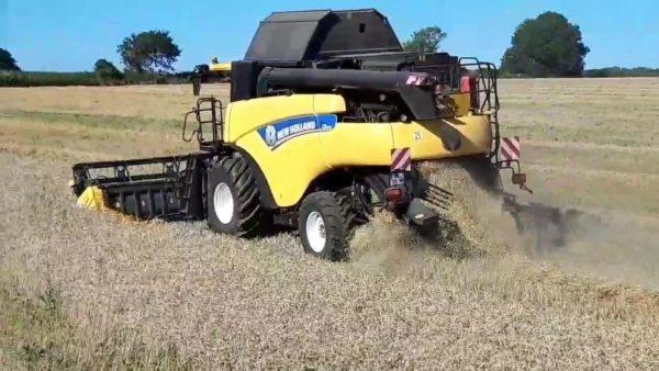 Battage de ble 2020 - Battage de blé 2020
