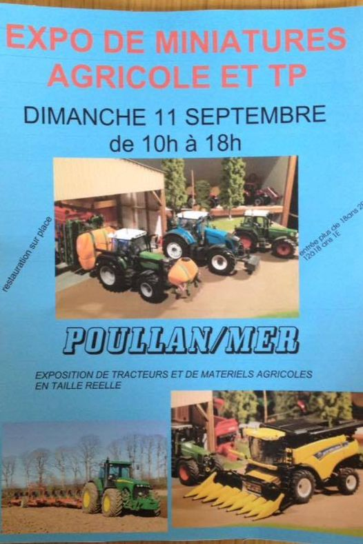 Nous serons present avec quelques machines agricol - Nous serons présent avec quelques machines agricol...