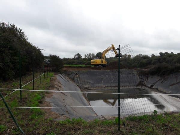 Terrassement pour lagrandissement dune lagune de - Terrassement pour l'agrandissement d'une lagune de...